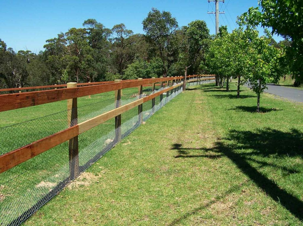 Exceptional rural property entrances