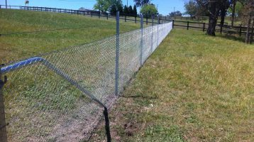 steel post fencing