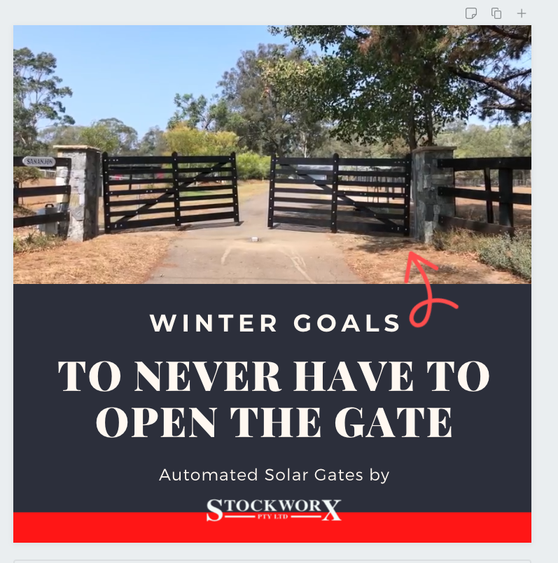 Solar Automated Gate - Solutions for your property